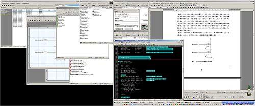 2880px×1200pxの変則デュアルディスプレイ