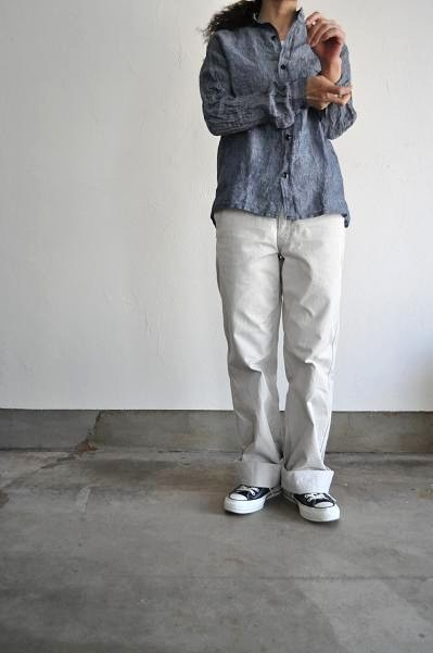 GARMENT REPRODUCTION OF WORKERS シャツ STAND FARMER SHIRT CHAMBRAY