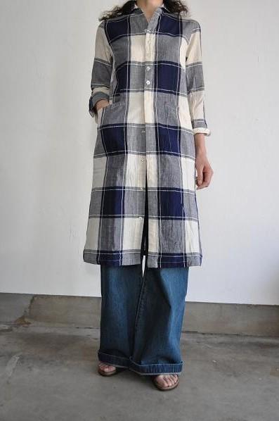 NATIC/ナティック ロングシャツ ワンピース
