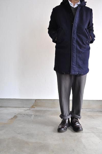 OMNIGOD/オムニゴッド 圧縮ウール コート