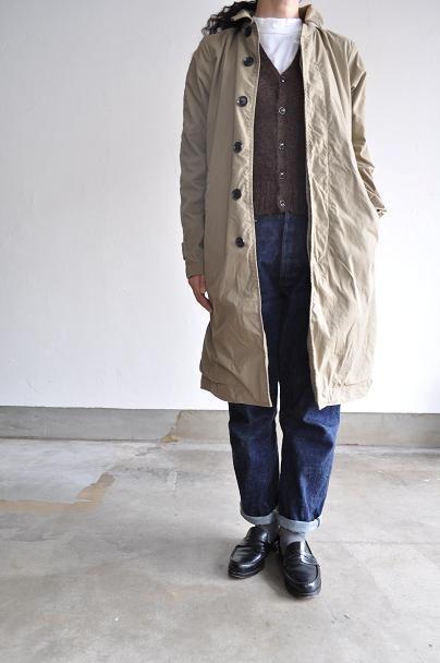 RINEN/リネン レディース 20/1 高密度平織りコート