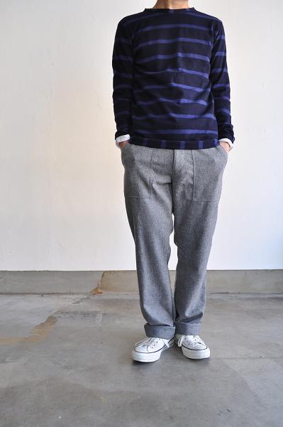 ARBRE/アルブル フラノ イージーパンツ/Flannel Easy Pants