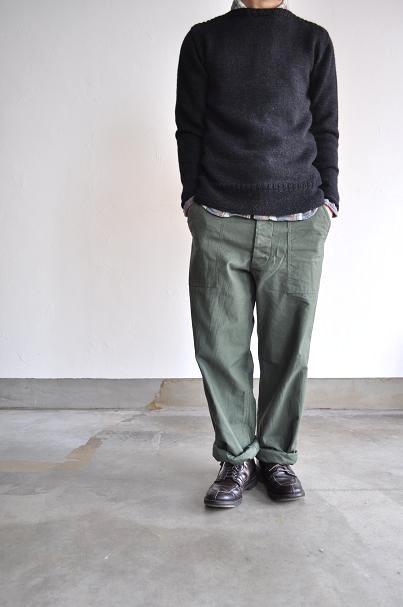 OMNIGOD/オムニゴッド コットンネル ワークシャツ