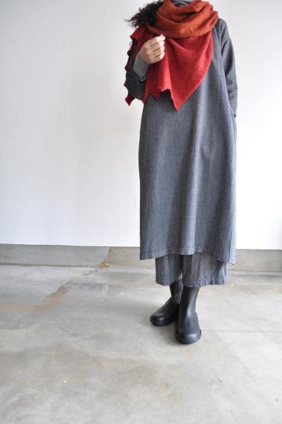 jujudhau/ズーズーダウ TENT DRESS