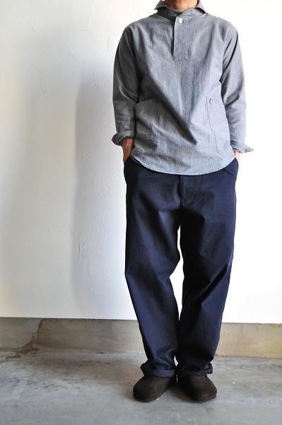RINEN/リネン 30/1 綾オックスパンツ