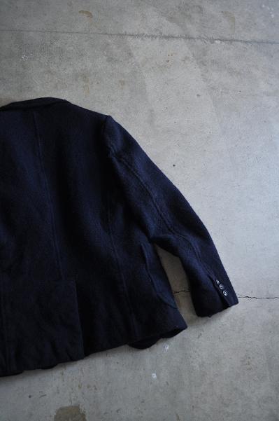 COMME des GARCONS HOMME/コムデギャルソン オム 紡毛先染め 製品縮絨ジャケット