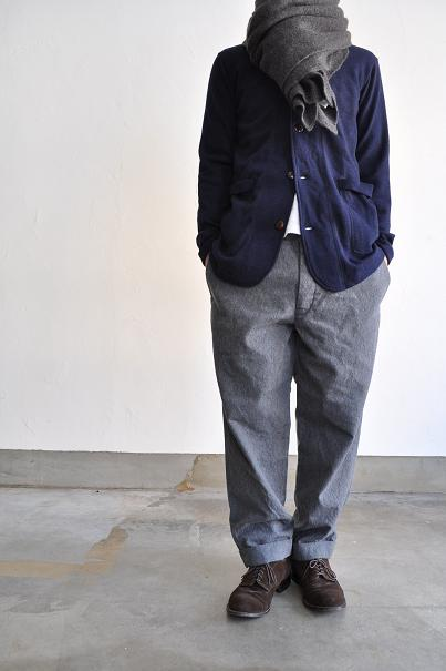 OMNIGOD/オムニゴッド Army Wool Tapered Tousers