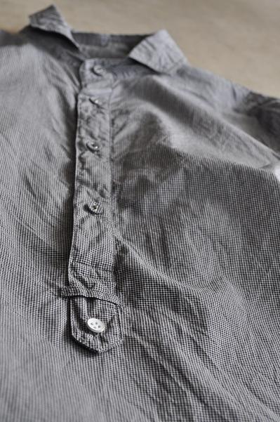 STILL BY HAND/スティルバイハンド チェック プルオー バシャツ