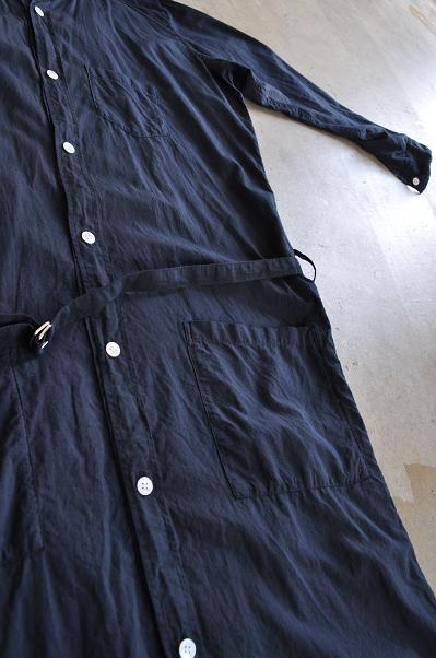 ゴーシュ 100/1ローン コートワンピース/ロングシャツ