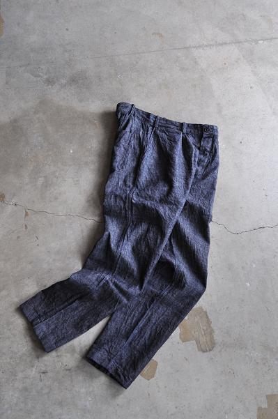 STYLE CRAFT WARDROBE/スタイルクラフトワードローブ PANTS #2 LINEN COTTON DENIM/リネンコットンデニム