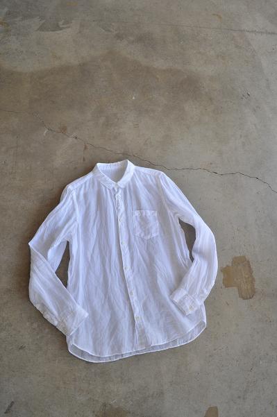 ゴーシュ 麻(ラミー)シャツ