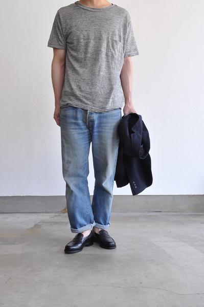 STILL BY HAND/スティルバイハンド リネンTシャツ