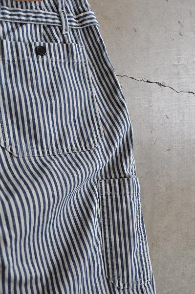 ordinary fits/オーディナリーフィッツ FRENCH CROPPED HICKORY