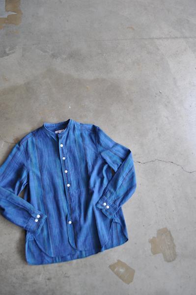 HAVERSACK/ハバーサック レディース インディゴチェックシャツ