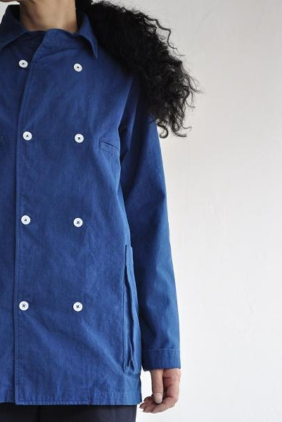 LOLO/ロロ インディゴ染め シャツジャケット