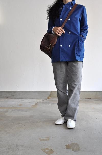 Ordinary fits/オーディナリーフィッツ WORK TUCK PANTS