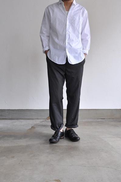 STYLE CRAFT WARDROBE/スタイルクラフトワードローブ SHIRTS #1(Cotton White)/シャツ