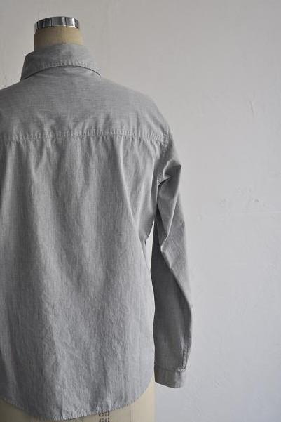 LOLO/ロロ 定番比翼型シャツ