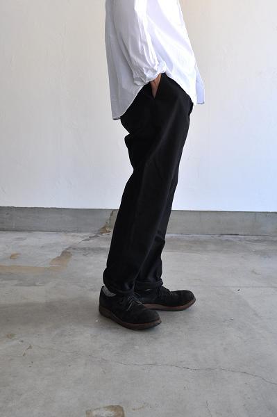 STYLE CRAFT WARDROBE/スタイルクラフト ワードローブ PANTS#3 WASH BLACK/パンツ