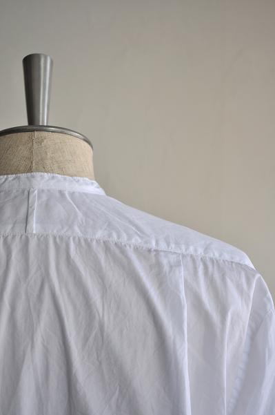 STYLE CRAFT WARDROBE/スタイルクラフトワードローブ シャツ/ SHIRTS #2(Cotton White)