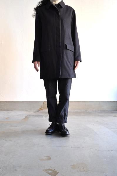 etre Pieds nus/エートル・ピエ・ニュ Camel Wool Coat/キャメルウール コート