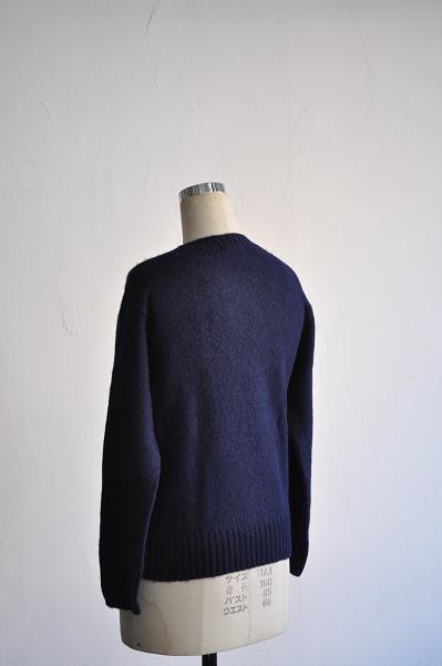 LOLO/ロロ チェーン刺繍セーター