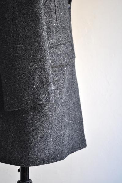 etre Pieds nus/エートル・ピエ・ニュ Lomond Tweed Tailored Coat /ローモンドツイードテーラードコート