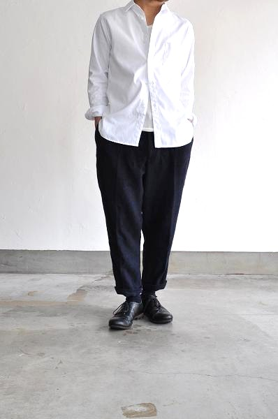 Ordinary fits/オーディナリーフィッツ TUCK CROPPED