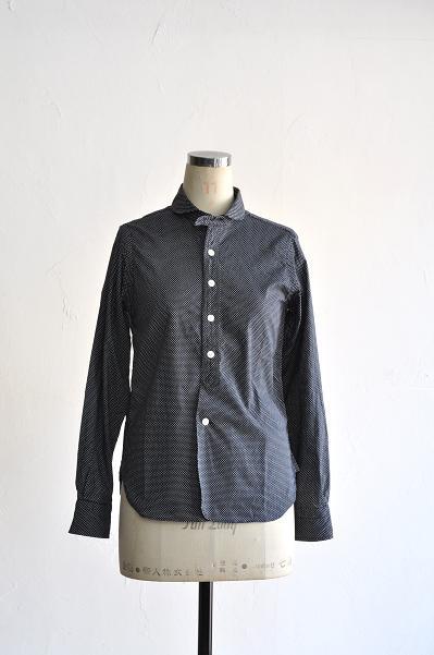 HAVERSACK/ハバーサック Dot Print Shirt/ドットプリントシャツ