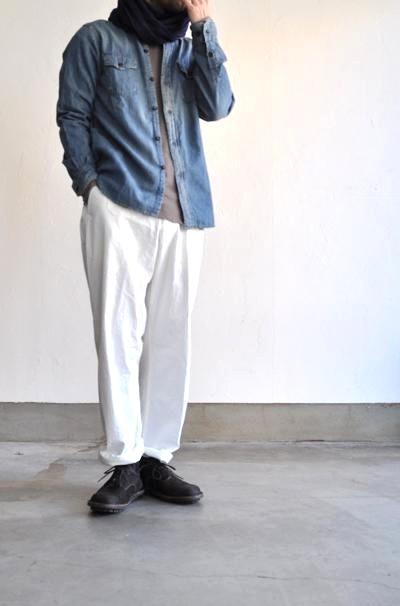 HAVERSACK/ハバーサック ヘリンボーンワークパンツ/Cotton Herringbone Work Pants