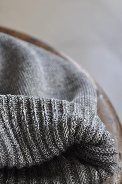 coeur/クール リネンニットキャップ/Linen Knit Cap