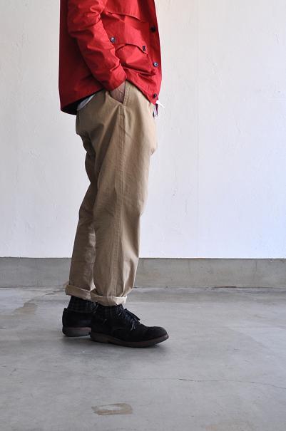 HAVERSACK/ハバーサック パンツ/Vintage Twill Peg-Top Pants