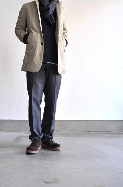 STILL BY HAND/スティルバイハンド 袋縫いハーフコート/French Seam Half Coat