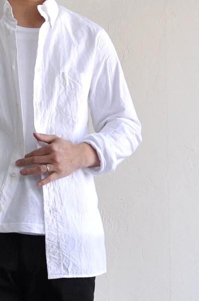RINEN/リネン 40/1オーガニック天竺 Uネック