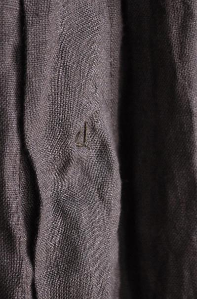 kapital/キャピタル ソフトリネン ペザントコクーンシャツ