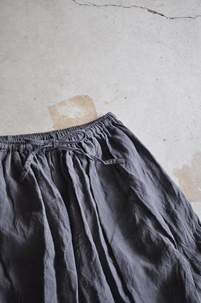 jujudhau/ズーズーダウ ワイドパンツ/WIDE PANTS(LINEN GRAY)