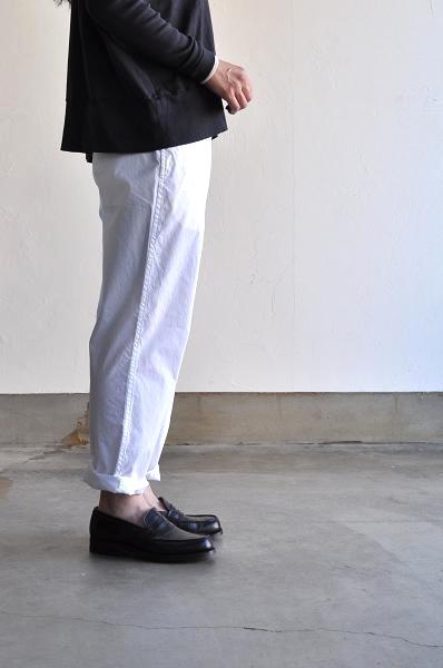 etre Pieds nus/エートル・ピエ・ニュ パンツ/CASUAL PLAIN COTTON PANTS