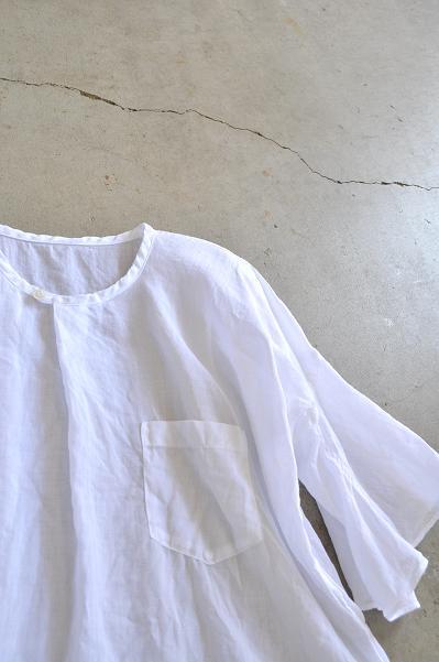 ゴーシュ 160/1ラミー プルオーバーシャツ