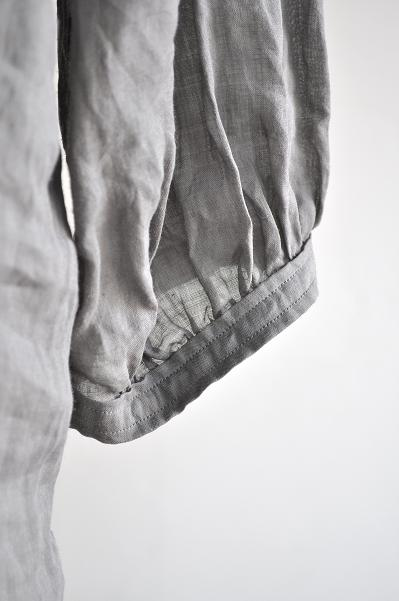ゴーシュ 160/1ラミー プルオーバー ロング シャツ