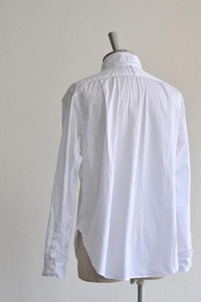 STYLE CRAFT WARDROBE/スタイルクラフトワードローブ シャツ/SHIRTS #3(Cotton White)