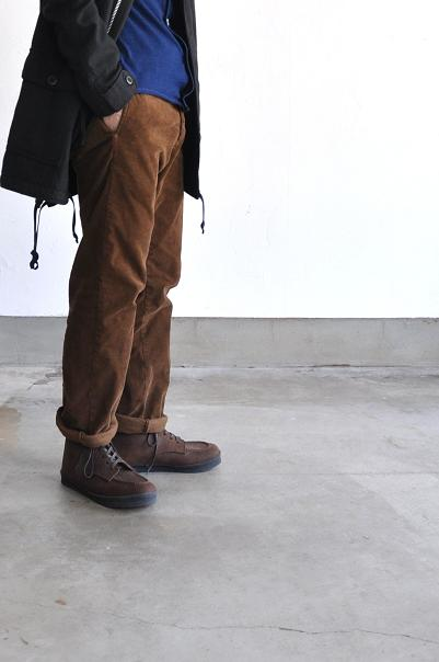 STYLE CRAFT/スタイルクラフト 靴 シューズ SIX HOLE SHOES(OIL SUEDE /D.BROWN)